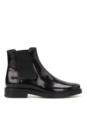 Tod'S: ankle boots - Smooth leather ankle boots