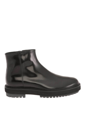 Tod'S: ankle boots - Smooth leather booties