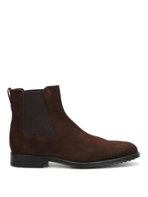Tod'S: ankle boots - Suede booties