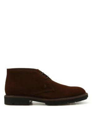 Tod'S: ankle boots - Suede desert boots
