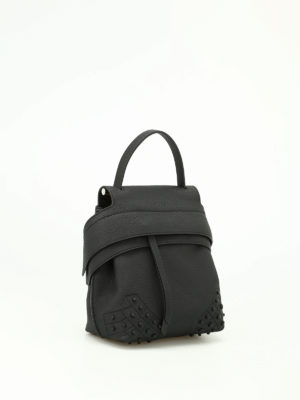 Tod'S: backpacks online - Wave Bag Mini black backpack