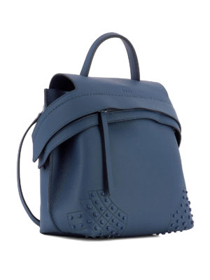 Tod'S: backpacks online - Wave Bag small leather backpack