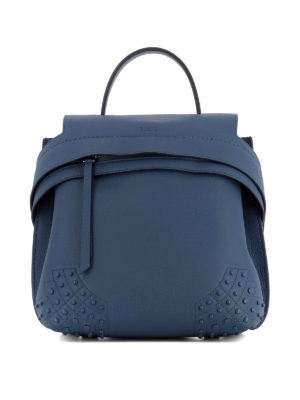 Tod'S: backpacks - Wave Bag small leather backpack