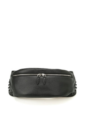 Tod'S: belt bags - Grainy leather belt bag