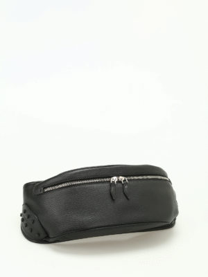 Tod'S: belt bags online - Grainy leather belt bag
