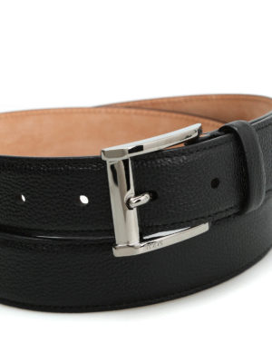 Tod'S: belts online - Squared buckle belt