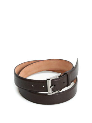 Tod'S: belts - Squared buckle belt