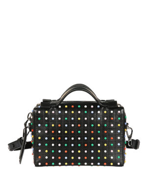 Tod'S: bowling bags - Colourful Gommino mini bowling bag