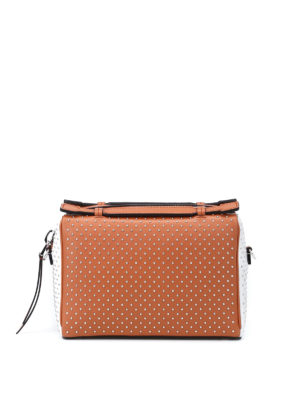 Tod'S: bowling bags - Don studded bowling bag