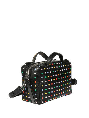 Tod'S: bowling bags online - Colourful Gommino mini bowling bag