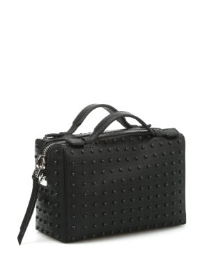 Tod'S: bowling bags online - Mini bag with rubber pebbles