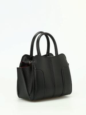 Tod'S: bowling bags online - Sella Mini leather handbag