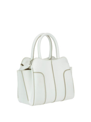 Tod'S: bowling bags online - Sella top zip leather mini bag