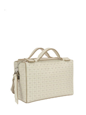 Tod'S: bowling bags online - Small suede bowling bag