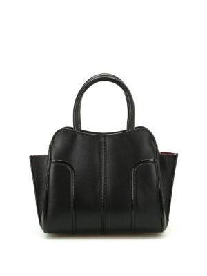 Tod'S: bowling bags - Sella Mini leather handbag