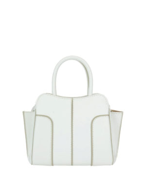 Tod'S: bowling bags - Sella top zip leather mini bag