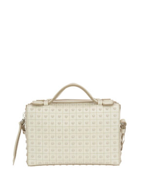 Tod'S: bowling bags - Small suede bowling bag
