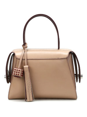 Tod'S: bowling bags - Twist leather small bowling bag