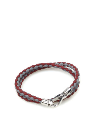Tod'S: Bracelets & Bangles - MyColors bicolour leather bracelet
