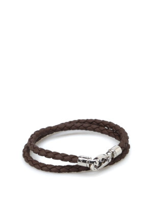 Tod'S: Bracelets & Bangles - MyColors brown leather bracelet