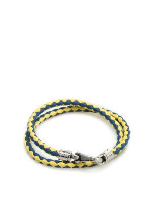 Tod'S: Bracelets & Bangles - MyColors leather bracelet