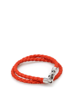 Tod'S: Bracelets & Bangles - MyColors orange leather bracelet