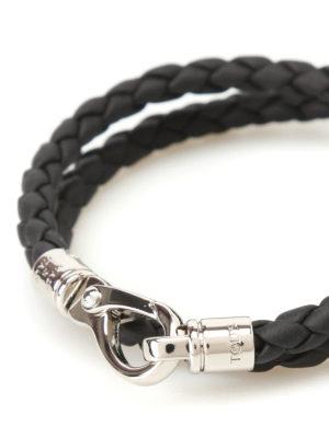 Tod'S: Bracelets & Bangles online - MyColors black leather bracelet