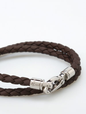Tod'S: Bracelets & Bangles online - MyColors brown leather bracelet