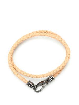 Tod'S: Bracelets & Bangles online - MyColors leather bracelet