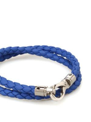 Tod'S: Bracelets & Bangles online - MyColors sky blue leather bracelet