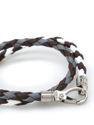 Tod'S: Bracelets & Bangles online - Scooby Two leather bracelet