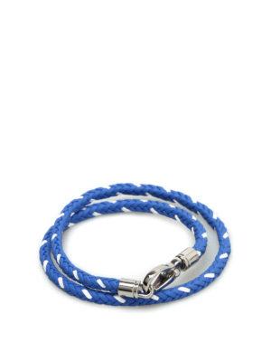 Tod'S: Bracelets & Bangles - Scooby Trek leather bracelet