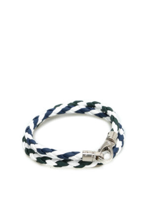 Tod'S: Bracelets & Bangles - Scooby Trek leather bracelet