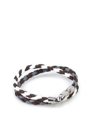 Tod'S: Bracelets & Bangles - Scooby Two leather bracelet