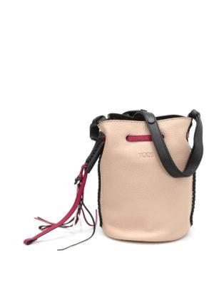 Tod'S: Bucket bags - Gipsy small bucket bag