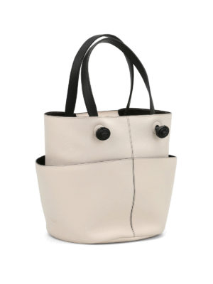 Tod'S: Bucket bags online - Leather round bucket bag
