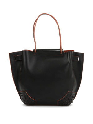 Tod'S: Bucket bags - Small Wave bucket bag