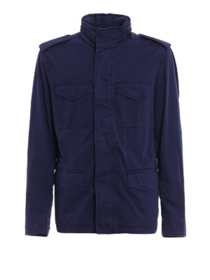 Tod'S: casual jackets - Cotton field jacket