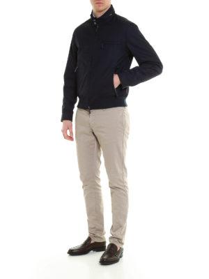 Tod'S: casual jackets online - Cotton blend multi pocket jacket