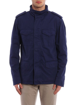 Tod'S: casual jackets online - Cotton field jacket