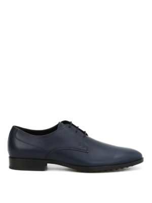 Tod'S: classic shoes - Brushed leather classic shoes