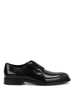 Tod'S: classic shoes - Brushed leather Derby shoes