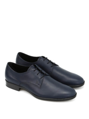 Tod'S: classic shoes online - Brushed leather classic shoes