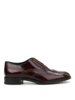 Tod'S: classic shoes online - Classic brogue shoes