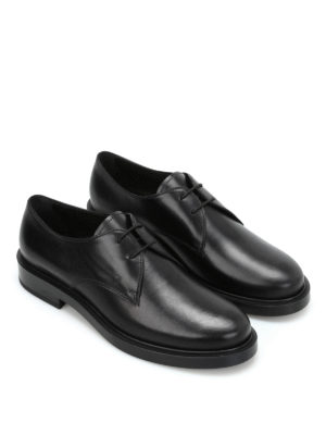 Tod'S: classic shoes online - Leather Derby shoes
