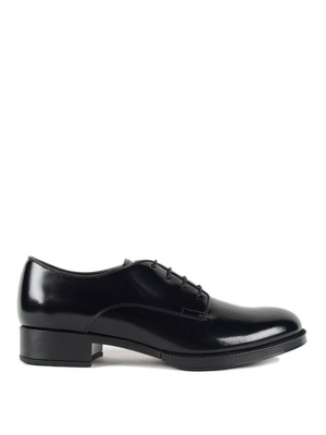 Tod'S: classic shoes online - Leather lace-up shoes