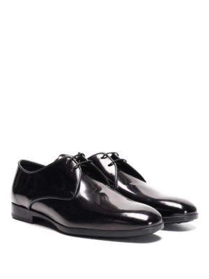 Tod'S: classic shoes online - Polished leather derby shoes