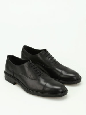 Tod'S: classic shoes online - Semi glossy leather classic shoes