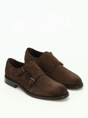 Tod'S: classic shoes online - Suede classic monk straps