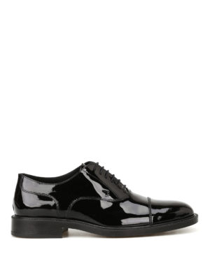Tod'S: classic shoes - Patent leather laced-up Oxford